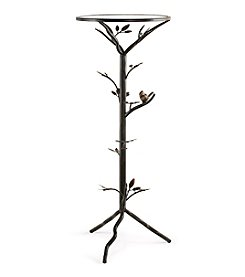 InnerSpace® Dalton Home Collection  Large Glass Bird Table