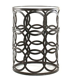 InnerSpace® Dalton Home Collection Barrel Table with Circles