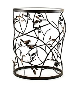 InnerSpace® Dalton Home Collection Large Barrel Table with Leaves