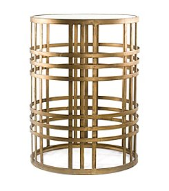 InnerSpace® Dalton Home Collection Barrel Table with Weave
