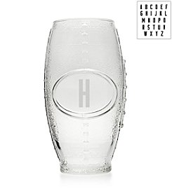 Cathy's Concepts Personalized Custom Glass Football Tumbler