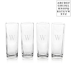 Cathy's Concepts Personalized Set of Four Island Shooter Glasses