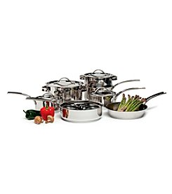 Gordon Ramsay by Royal Doulton® 11-pc. Stainless Steel Cookware Set with Bonus