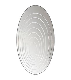 Lumisource® Oval Ripples Mirror