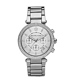 Michael Kors® Silvertone Parker Watch