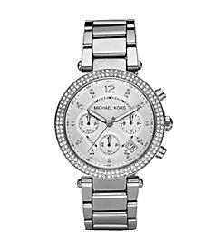 Michael Kors® Silvertone Parker Watch