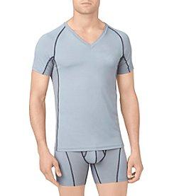 Calvin Klein Men's Athletic Short Sleeve V-Neck