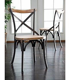 W. Designs Urban Reclamation Set of 2 Deluxe Dining Chairs