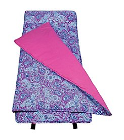 Wildkin Watercolor Purple Ponies Sleeping Bag