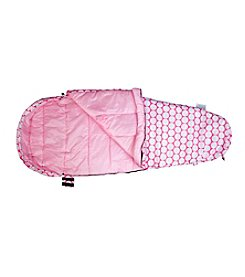 Wildkin Big Dot Pink and White Stay Warm Sleeping Bag