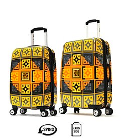 Olympia New Age Art Series Fusion Gold Luggage Collection