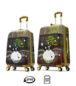Olympia Arirang Art Series Khaki Luggage Collection