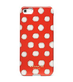 COACH IPHONE 5 CASE IN MINI DOT PRINT