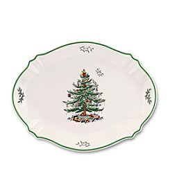 Spode® Christmas Tree Oval Platter
