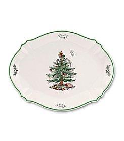 Spode® Christmas Tree Oval Platter