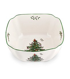 Spode® Christmas Tree Large Square Bowl