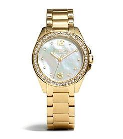 COACH WOMEN'S 32mm GOLD TRISTEN BRACELET WATCH