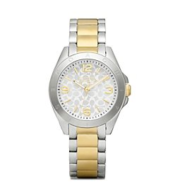 COACH TWO TONE TRISTEN BRACELET WATCH