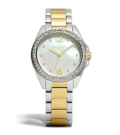 COACH WOMEN'S 36mm TWO-TONE TRISTEN BRACELET WATCH