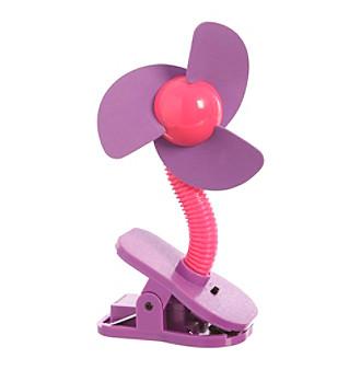 Dreambaby® Clip-On Fan - Purple/Pink