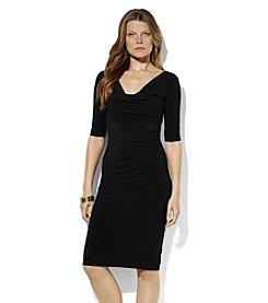 Lauren Ralph Lauren® Drapeneck Dress