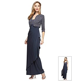 Alex Evenings® Long Dress with Bolero Jacket