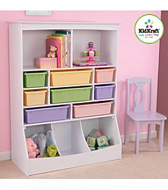 KidKraft White Wall Storage Unit