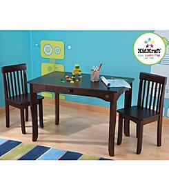 KidKraft Avalon Espresso Table & Chair Set