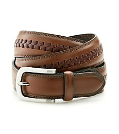 John Bartlett Statements Men's Brown Casual Belt