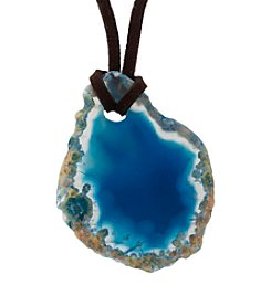 Athra Agate Pendant with Cord