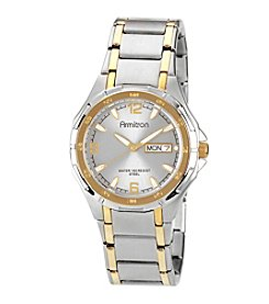 Armitron Men's Two-Tone Stainless Steel Round Dial Dress Watch