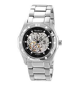 Armitron Men's Automatic Silvertone Bracelet Watch
