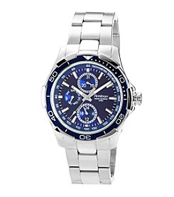 Armitron Men's Multi Function Blue Dial Watch
