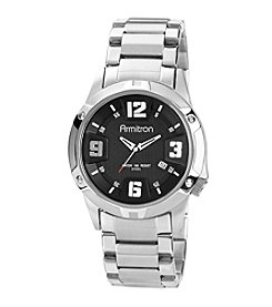 Armitron Men's Black Dial Watch