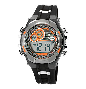 Armitron Men's Chronograph Gray and Black Digital Sport Watch