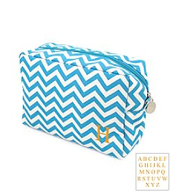 Cathy's Concepts Personalized Chevron Spa Bag