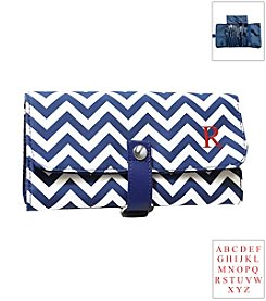 Cathy's Concepts Personalized Chevron Makeup Roll