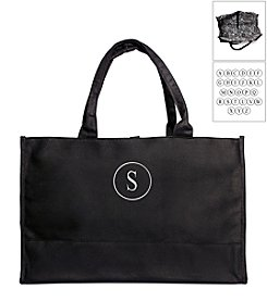 Cathy's Concepts Personalized Damask Fabric Tote Bag