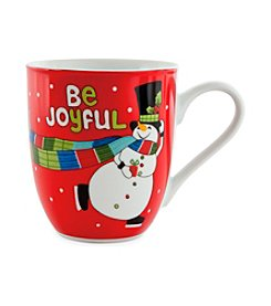 Fitz and Floyd® Set of 2 Be Joyful Mugs