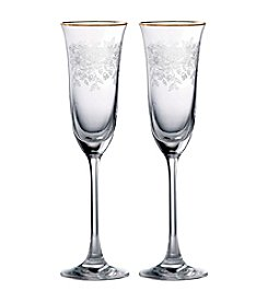 Royal Albert® Old Country Roses Set of 2 Champagne Flutes