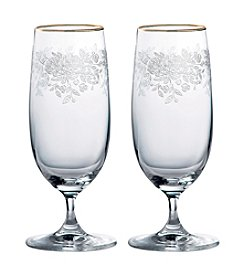 Royal Albert® Old Country Roses Set of 2 Iced Beverage Glasses