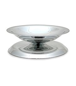 Cathy's Concepts Silver Pillar Candle Holder
