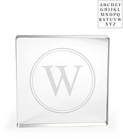 Cathy's Concepts Personalized Acrylic Square Cake Topper