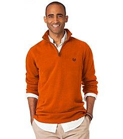 Chaps® Men's Flat Back Ribbed Quarter-Zip Shirt