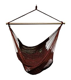 Algoma Hammocks Hanging Polyester Rope Chair