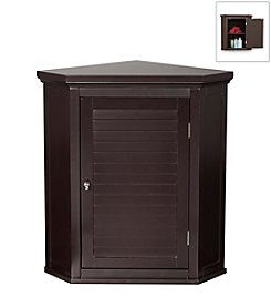 Elegant Home Fashions® Slone Corner 1-Shutter Door Wall Cabinet