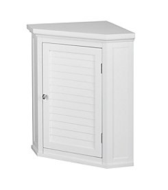 Elegant Home Fashions® Slone Corner One-Shutter Door Wall Cabinet