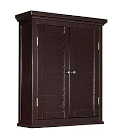 Elegant Home Fashions® Slone Two-Shutter Door Wall Cabinet
