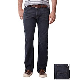 Nautica® Men's Cannon Blue Bootcut Crosshitch Denim