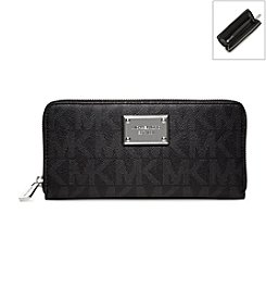 MICHAEL Michael Kors® Jet Set Pebbled Continental Wallet